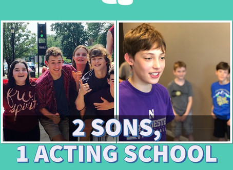 2 Sons, 1 Acting School