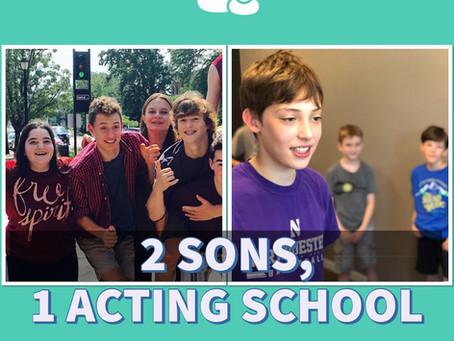 2 Sons, 1 Acting School