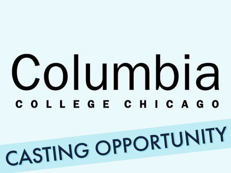 Columbia College Extends Audition Opportunity to ATC Students