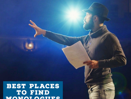 Best Places to Find Monologues and Scenes