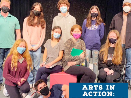 Arts In Action: Reflections from Class