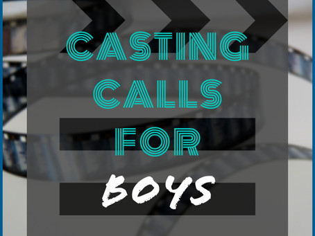 Open Casting Call for Teen Boys