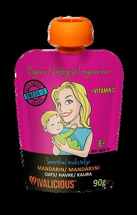 Vegan, Organic Baby Smoothie - Mandarin per pouch