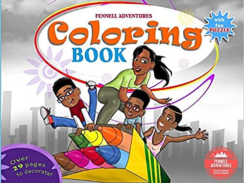 Fennell Adventures Coloring Book