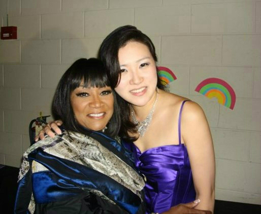Rose Jang with Patti