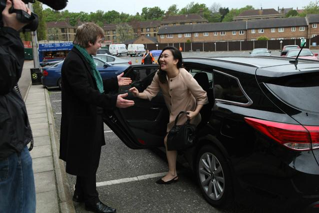 Rose Jang Hyundai Greeting Martin