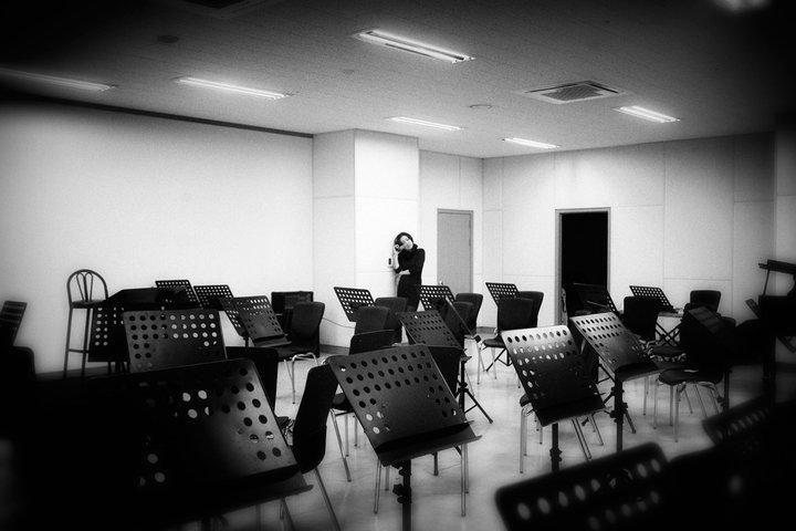 Rose Jang rehearsal