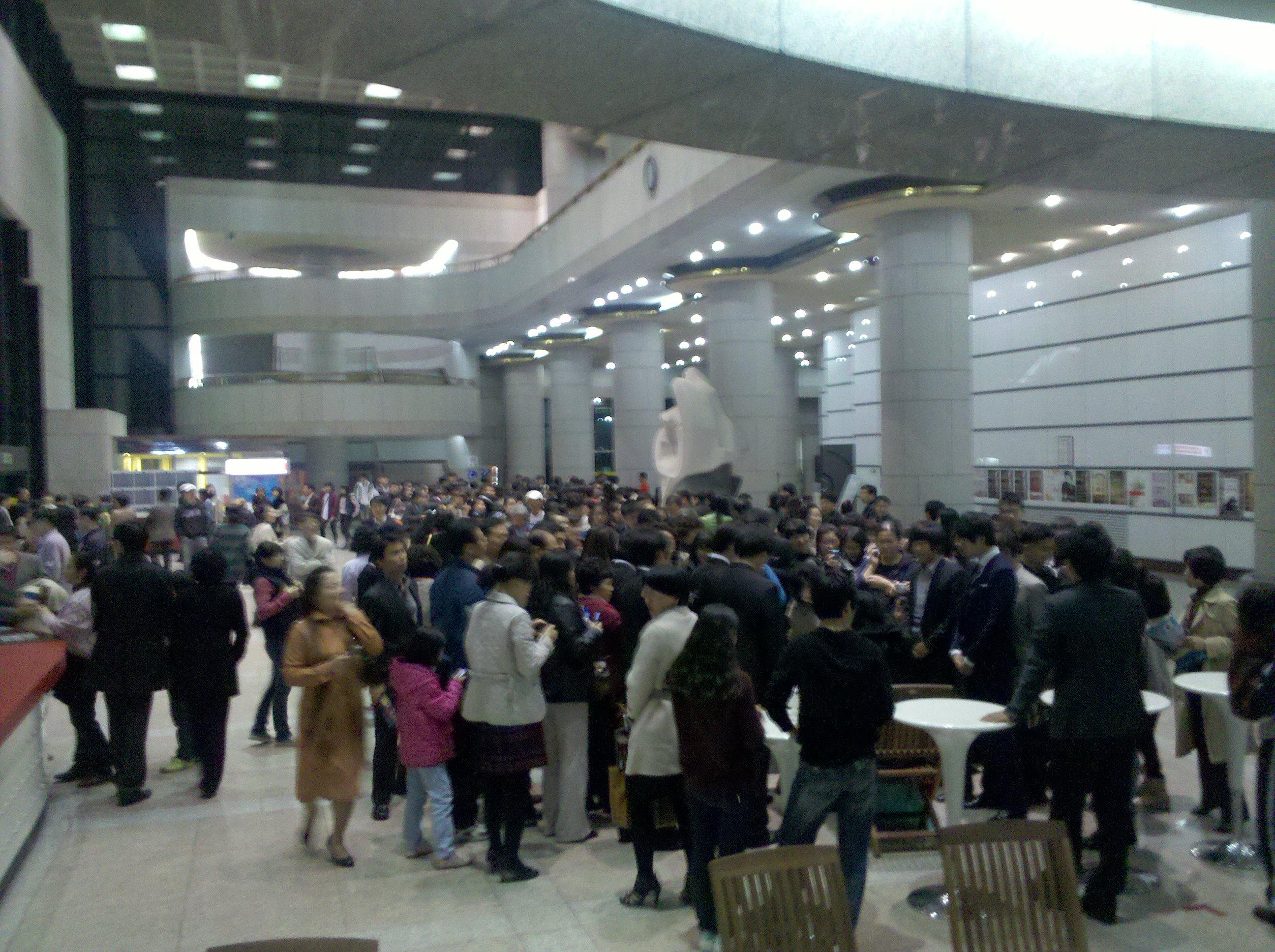 Rose Jang 10.31 전국투어마지막광주공연후 팬사인회