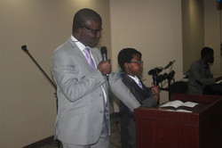 Mike Ogbuehi & son