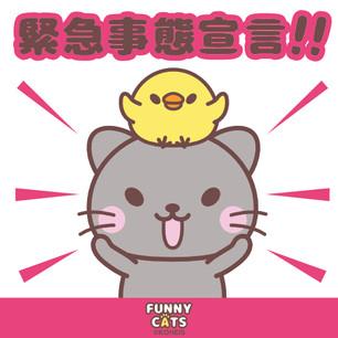 FUNNY☆CATS【緊急事態宣言!!】