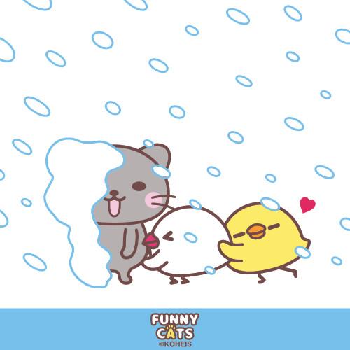 FUNNY☆CATS【 大雪 】