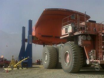 Paso 2E: Montaje Tolva sobre camión