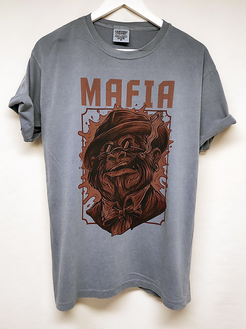 "Comfort Colors Adult Tee T-Shirt Uomo ""Monkey Mafia"""