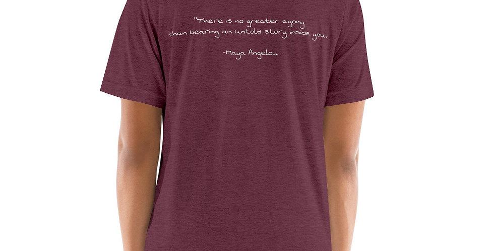 The Poet Maya T-shirt