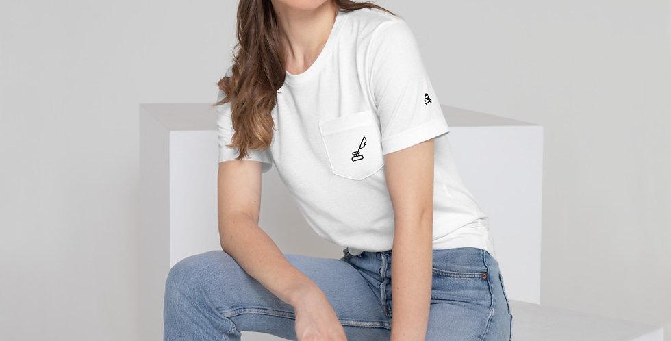 Womens Writer's Pocket T-Shirt