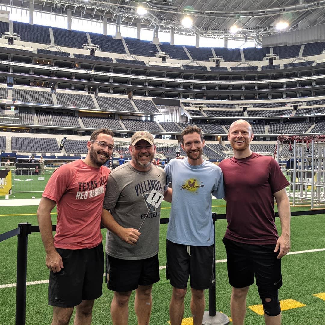 Spartans at AT&T Stadium