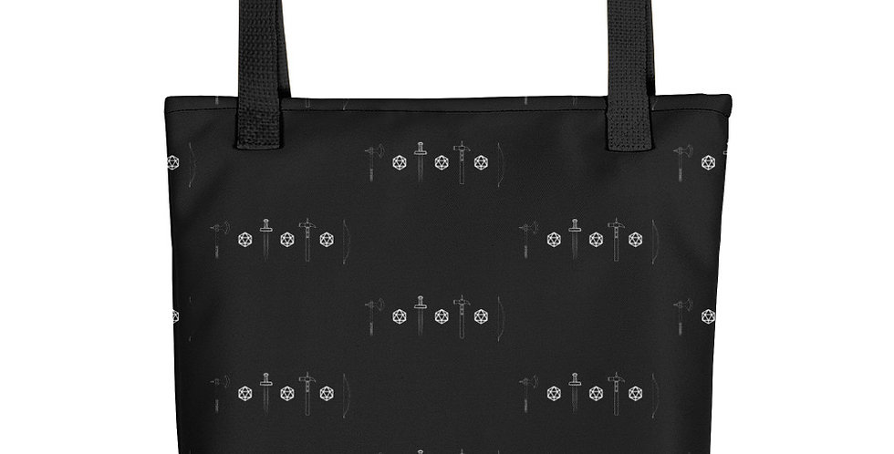 Dungeons and Dice Tote
