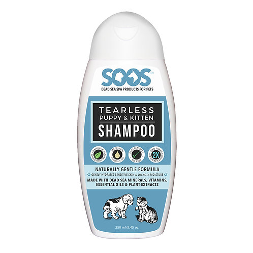 Tearless Puppy And Kitten Shampoo
