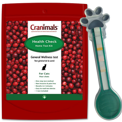 Cranimals Health Check Test For Cats