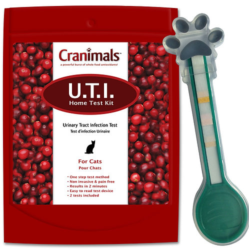 Cranimals Urinary Tract Infection Test For Cats