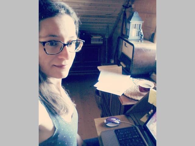 Autorenleben Schriftstellerin