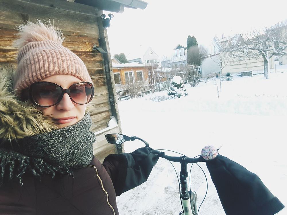 radeln im winter fahrradfahren