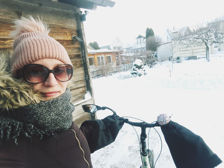 Radeln im Winter
