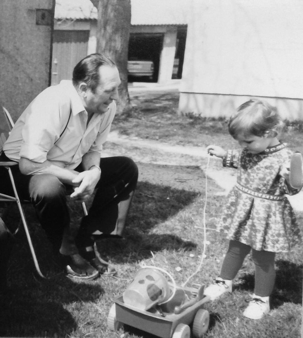 Opa Kind Kindheit Paradies besten jahre unseres lebens
