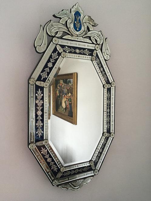 Antique Italian Venetian Looking Glass 1920's