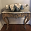 Thumbnail: Faded Grandeur! 19th Century Italian Side Table with marble top