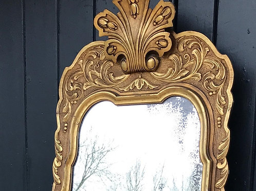 Stunning French Giltwood Dressing mirror c1880