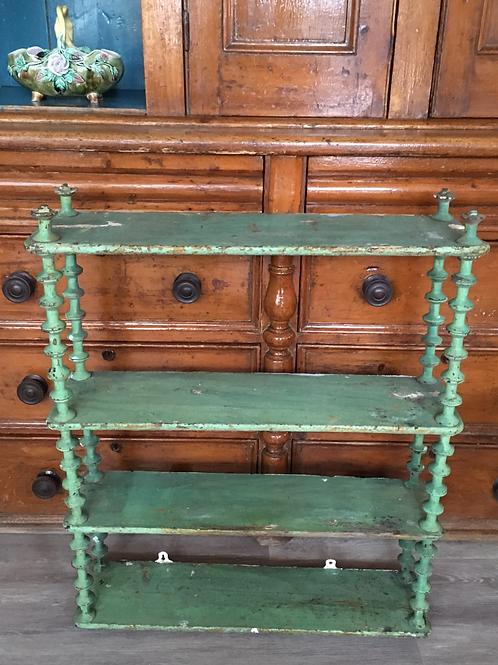 Primitive Cotton Reel Shelves