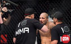 cornering Akira Corassani UFC