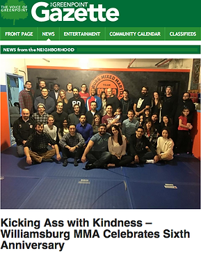 Gazette Best MMA, Jiu JItsu, Judo, Grco roman, Wrestling, Boxing Muay Thai, Brooklyn, New york, Greenpoint