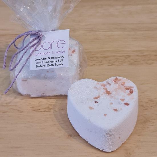 Lavender & Rosemary Bath Bomb