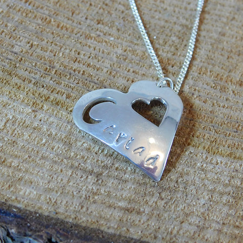 Cariad Heart Necklace