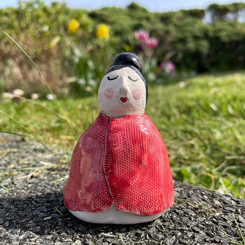Ceramic Welsh Lady