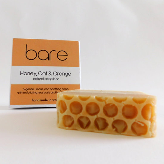 Honey, Oat & Orange Natural Soap