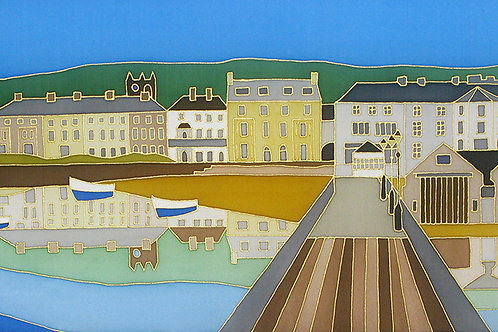 Beaumaris Reflection from the Pier Mounted Print
