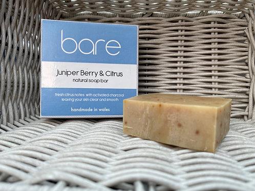 Juniper Berry & Citrus Natural Soap