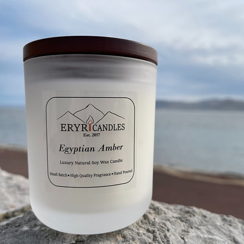 Egyptian Amber Candle