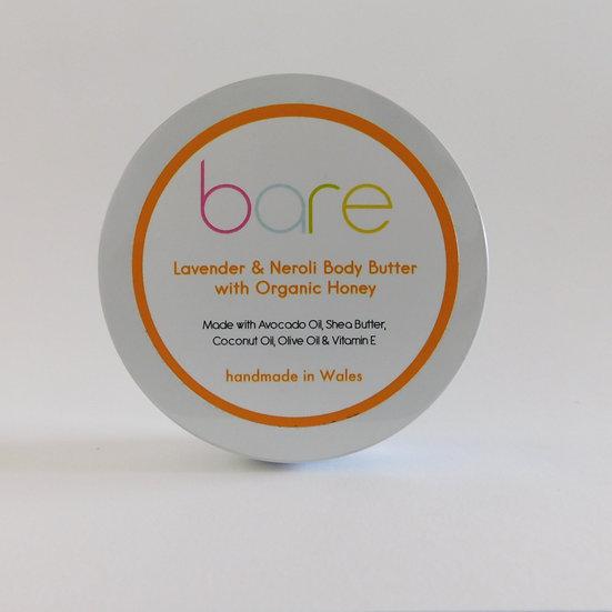 Lavender & Neroli Body Butter with Organic Honey