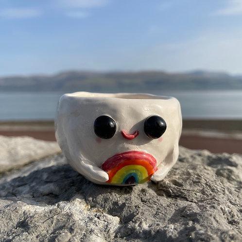 Over the Rainbow Happy Pot