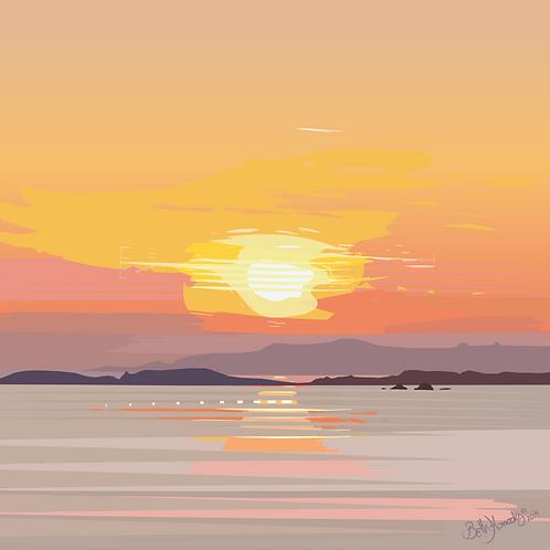 Machlud Haul, Rhosneigr Sunset