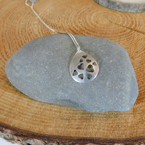 Love drop necklace
