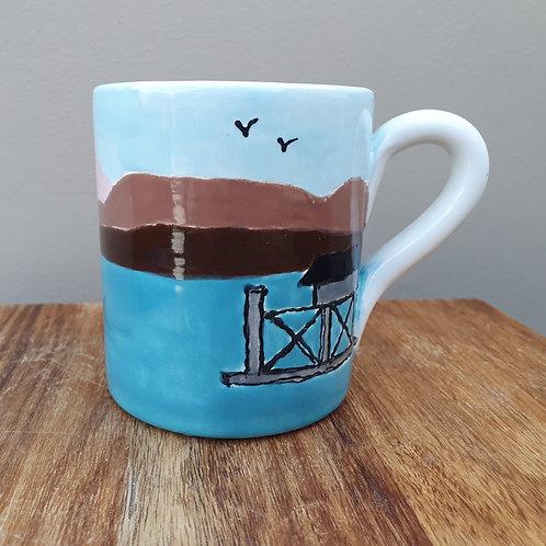Beaumaris Pier Ceramic Mug