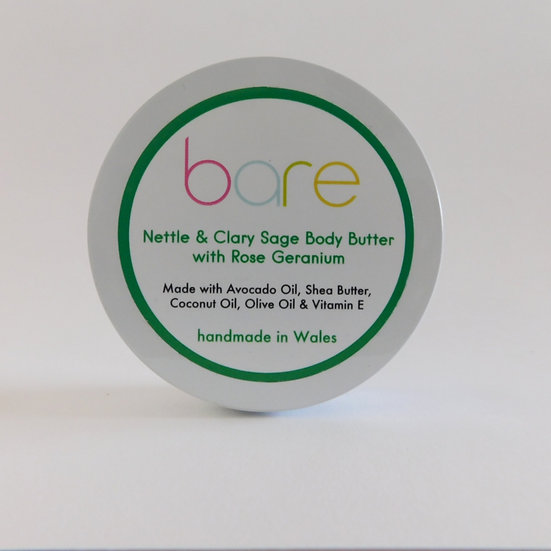Nettle & Clary Sage Body Butter with Rose Geranium