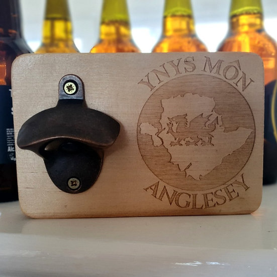 Ynys Môn Welsh Dragon Bottle Opener