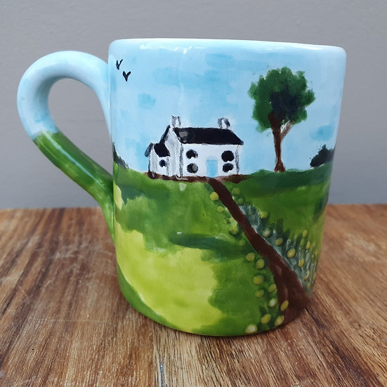 Welsh Cottage Ceramic Mug