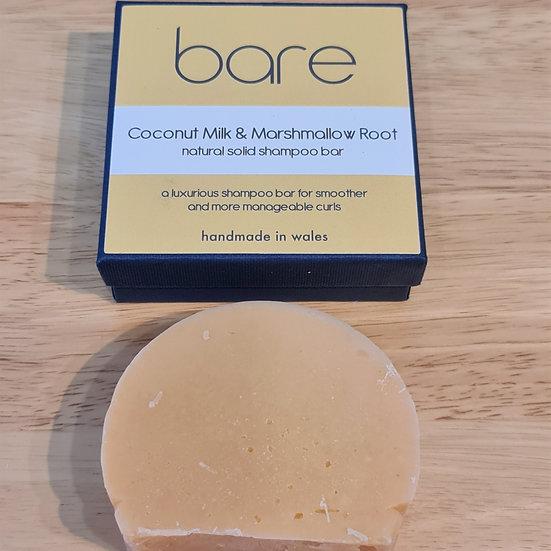 Coconut & Marshmallow Root Shampoo Bar